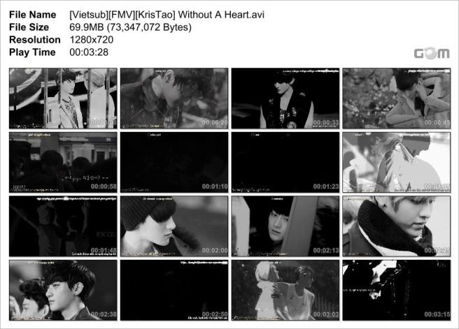 [Vietsub][FMV][KrisTao] Without A Heart_Snapshot