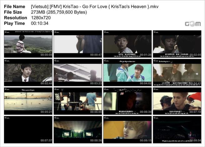 [Vietsub] [FMV] KrisTao - Go For Love { KrisTao's Heaven }_Snapshot